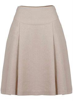 Faldas mg Love pleated skirts. Blouse And Skirt, Dress Skirt, Jw Mode, Cute Skirts, Cotton Skirt, Mode Style, African Dress, Skirt Outfits, Dress Patterns