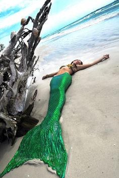I have wanted to be a mermaid since I was little if we're a mermaid my tail would look like this #swimwear #swimsuit