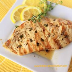 Lemon and Thyme Grilled Chicken recipe