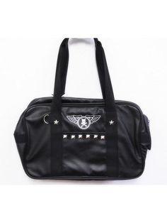 School Bag w/ Studs Silver. See more at: http://www.cdjapan.co.jp/apparel/superlovers.html #harajuku #SUPER LOVERS
