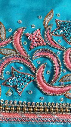 Sleeves Designs For Dresses, Sleeve Designs, Blouse Designs, Aari Work Blouse, Hand Work Blouse Design, Arm Work, Zardozi Embroidery, Princess Dress Kids, Beadwork Designs