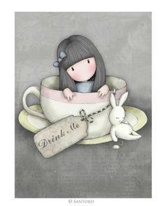 Gorjuss Cards - Sweet Tea