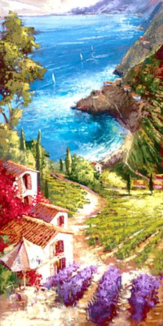Vineyard of Amalfi (350x700, 178Kb)