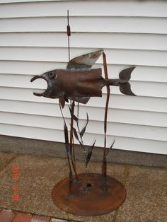 April  May Metal Art - LOAF'S SCRAP METAL ART