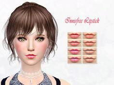 The Sims Resource: Innisfree Lipstick by SakuraPhan • Sims 4 Downloads