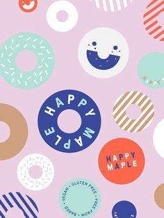Brand identity, logo and illustration by Sydney-based graphic design studio…