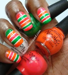 Nicole By OPI | Notorious! NEONS, Swatches and Review
