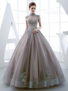 Vintage Ball Gowns & Cheap Ball Dresses for Sale Online Beautiful Prom Dresses, Elegant Dresses, Pretty Dresses, Formal Dresses, Colorful Prom Dresses, Ball Gown Dresses, Evening Dresses, Organza Dress, Ball Gowns Prom