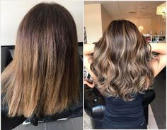 Before and after photos of the many different colors and techniques that are offered at Lulu Salon! Come on in and we'll give you a new look! Book your appointment now as spots are limited 5759141948