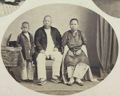 Een op Java wonend Chinees gezin