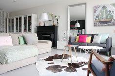 Colorido y delicada vivienda holandesa. Decoracion con tonos suaves.