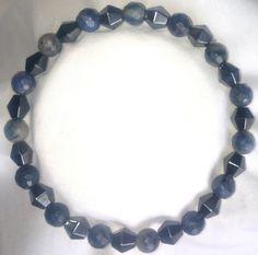 Magnetische Hämatit Blau Jaspis Heilstein Armband Bracelet