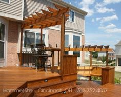 Hammer-Rite Built Deck Arbors and Pergolas #2