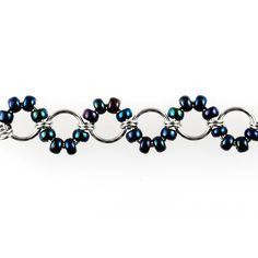 Beaded Waves chainmaille image