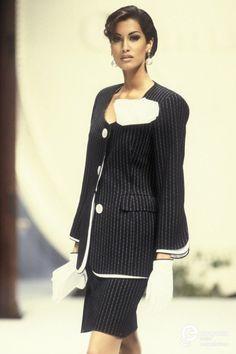 Yasmeen Ghauri - Christian Dior, Spring-Summer 1992, Couture