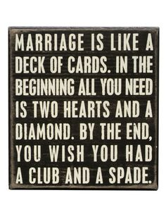 Marriage is like..... LOL
