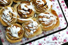 Mommy's Kitchen: Shortcut Cinnamon Rolls {Made With Truvia Baking Blend}