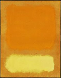 "Mark Rothko (1903-1985), Untitled - (""To See as Artists See: American Art from The Phillips Collection"" ~ Washington, DC, USA @ Tampa Museum of Art ~ Tampa, Florida, USA)"