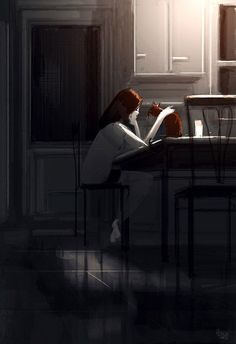 Pascal Campion is a French-American Artist living in California. Inspired by his wife and kids, he created series of concept illustrations in a unique Illustrations, Illustration Art, Pascal Campion, American Artists, Cat Art, Amazing Art, Concept Art, Art Drawings, Anime Art