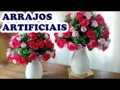 ARRANJOS DE FLORES ATIFICIAIS COMO FAZER ARRANJOS PARA CASAMENTO E FESTA INFANTIL - YouTube