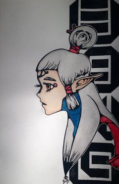 """Paya"" Breath of the Wild fan art by  Seija Bryant"