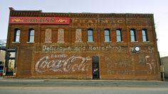 Ghost Sign, Jonesboro, Arkansas  - 70 years @ 5 cents by Mark Littrell