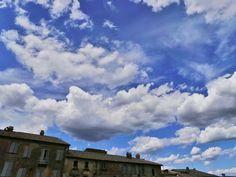 cielo sky clouds Nuvole on Orvieto