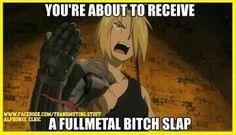 Edward Elric - Fullmetal Alchemist Brotherhood - funny meme