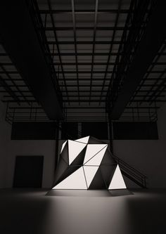 Sculptural Light Forms by Mathieu River's.