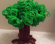 loom bands on Etsy, a global handmade and vintage marketplace. Crochet Cactus, Loom Bands, Vintage Marketplace, Etsy Seller, Handmade, Style, Rubber Bands, Swag, Hand Made