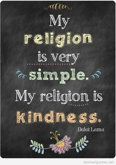 Simple religion by D