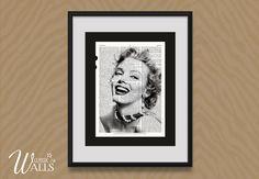 Marilyn Monroe Art Encyclopedia Art Print by ClassicWalls