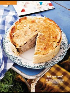 Varkpastei – Pastry World Kos, Good Food, Yummy Food, South African Recipes, Pork Recipes, Catering, Lunch, Breakfast, Savoury Pies