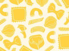 ideas for pasta illustration graphics vintage italian Pattern Illustration, Watercolor Illustration, Pasta Art, Trendy Wallpaper, Food Wallpaper, Food Patterns, Graphic Design Inspiration, Food Inspiration, Chalk Art