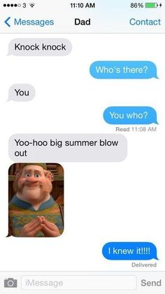 This cool Disney dad… | 29 Parents Who Are Clearly Way Better At Texting Than Their Kids: