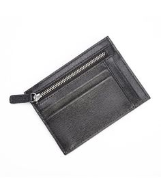 Royce Leather -  Men's RFID Blocking Slim Card Case Wallet in Saffiano Leather | Bluefly.com - $40