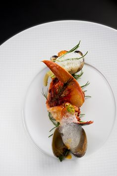 Lobster by Chef Briffard @ Le Cinq