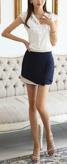 Amazon.co.jp: 胸元 が 可愛い ! カットワーク レース 切り替え 半袖 フリル ブラウス レディース ファッション / 白 ホワイト / S M L XL XXL 大きいサイズ もあり! (白, M): Amazonファッション
