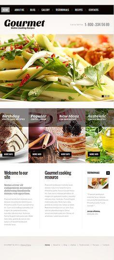 Joomla #template // Regular price: $75 // Unique price: $4500 // Sources available: .PSD, .PHP #Food #Drink #Joomla #tablet #smartphone #kitchen #cuisine #recipe #cooking  #restaurants