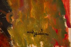 Metropolitan. Firma de Modigliani. N.Y.