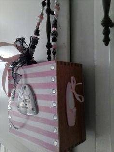 Dance Cigar Box purse by Cyndi Greer