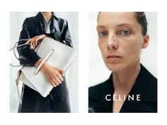 First Look: advertising campaign Céline, resort 2015