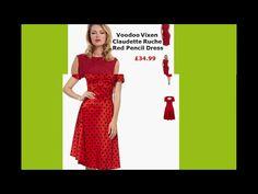 voodoo vixen red dress,voodoo vixen dress,voodoo vixen green dress - YouTube