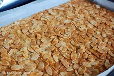 To Food with Love: Almond Crisps (Almond Brittle) Florentine Cookies, Florentines Recipe, Almond Brittle, Crunch Recipe, Brittle Recipes, Gluten Free Treats, Tasty Dishes, Scones, Blackpink Photos