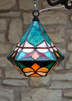 Items similar to Bell-Shaped Sea-Foam Green Pendant Lantern on Etsy. , via Etsy.