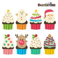 Christmas Yummy Cupcakes Sien Kos
