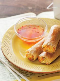 Find inspiration and meal ideas based on the latest food and nutrition trends, seasonal and festive food, news, and top chef recipes. Master cooking with how-to videos. Egg Roll Recipes, Chef Recipes, Asian Recipes, Appetizer Recipes, Vegetarian Recipes, Cooking Recipes, Healthy Recipes, Ethnic Recipes, Appetizers