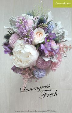 Wedding flower for brides, bridesmaids, grooms, groomsmen, and so much more! www.facebook.com/LemongrassWedding