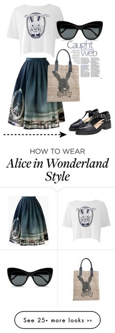 """""""Alice in wonderland"""" by thelittleprinces on Polyvore"""