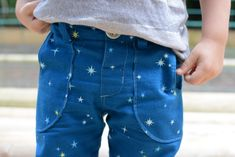Free pattern: Titchy Threads - Small Fry Skinny Jeans 2T